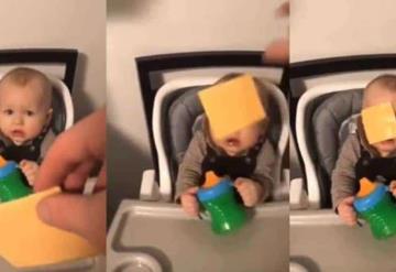 """Arrojar queso en la cara a bebés """"el nuevo reto viral"""""""