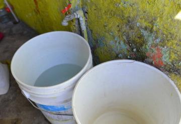 5 colonias son afectadas con baja presión por la sequía