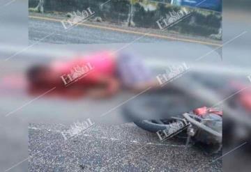 Lo ejecutan a bordo de su moto sobre la Villahermosa- Frontera