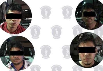Detienen a 4 hombres con armas de fuego en Cárdenas