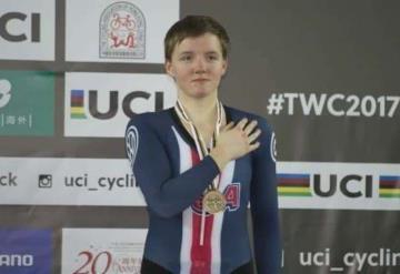 Joven ciclista campeona del mundo se quita la vida: fue plata en Río 2016