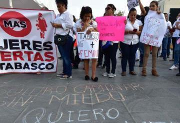 Tabasco, cuarto lugar en violencia contra la mujer