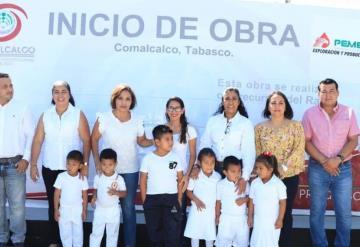 Refuerzan el sector educativo en Comalcalco con dos nuevas obras