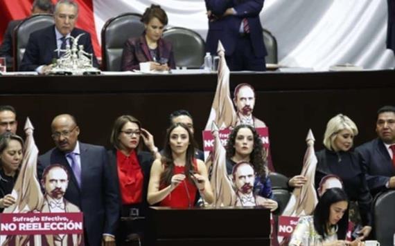 Revocación de mandato es un intento de reelección: Senadores de oposición