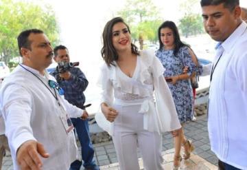 FOTOGALERÍA: Así se vive el ingreso de las embajadoras al hotel Quinta Real