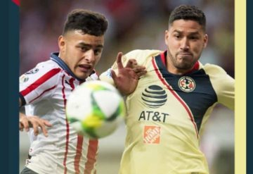 Segundo tiempo, América vence 2-0 a Chivas