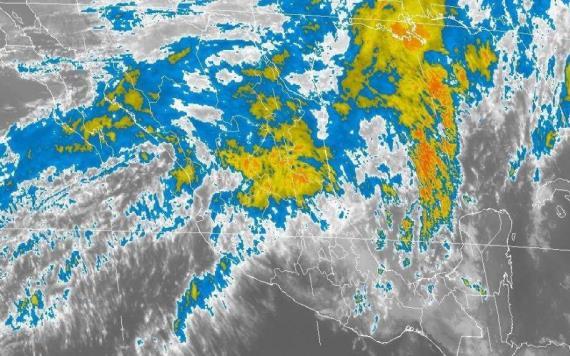 Continuarán las lluvias este lunes en Tabasco