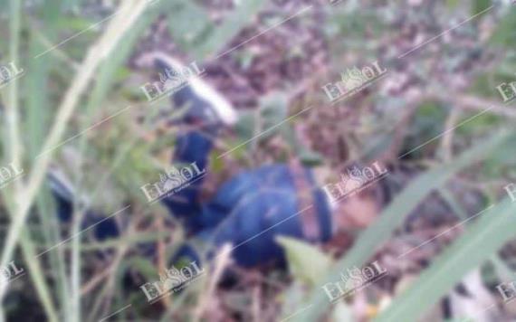 Con el tiro de gracia encuentran a un hombre de aproximadamente 40 años en Huimanguillo