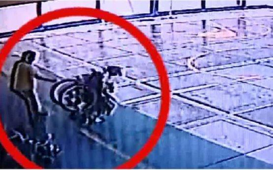 Joven con parálisis cerebral es lanzada de su silla de ruedas cuando estaba en la escuela