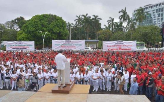 Pemex celebra el 81 aniversario de la expropiación petrolera
