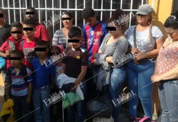 Aseguran a centroamericanos en la colonia Guayabal
