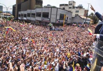 No confíen en mí, confíen en ustedes, Maduro ya está derrotado: Guaidó