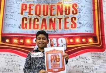 #VIDEO Tabasqueño canta tema de la MS como GIGANTE; ¿acabó su sueño en Pequeños Gigantes?