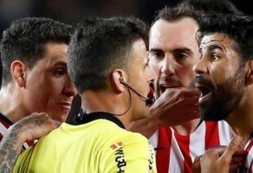 ´Me cago en tu p... ma...´ , Diego Costa insultó al árbitro