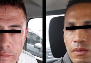 Asaltantes confunden a cuentahabiente, sólo roban 500 pesos y los detienen