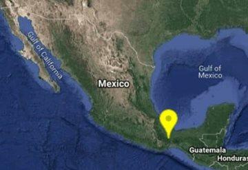 Sismo de magnitud 5 sacude Oaxaca  y Tabasco