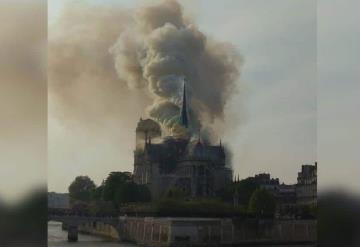De último momento: Catedral de Notre Dame de París se prende en llamas