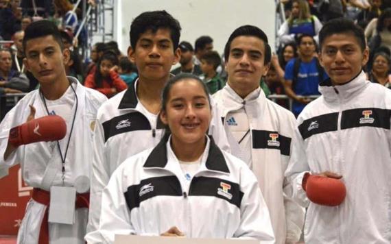 Nueve karatekas tabasqueños a Olimpiada Nacional 2019
