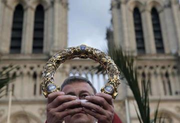 La corona de espinas y las reliquias conservadas en la Catedral de Notre Dame