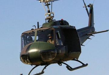 Reinicia helicóptero tipo Bell vigilancia aérea contra inseguridad