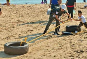 RALLY DE PLAYA: Se imponen al sol, la arena y el mar