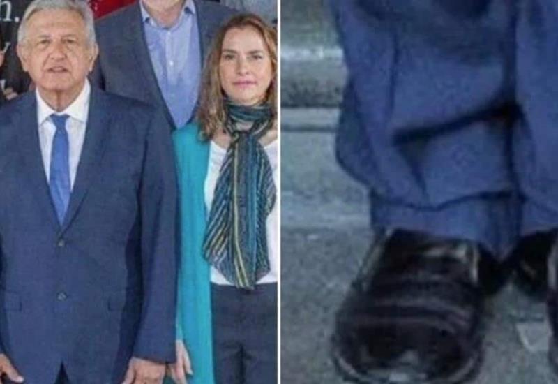 Tunden a Pedro Ferriz por criticar zapatos de AMLO; lo llaman clasista