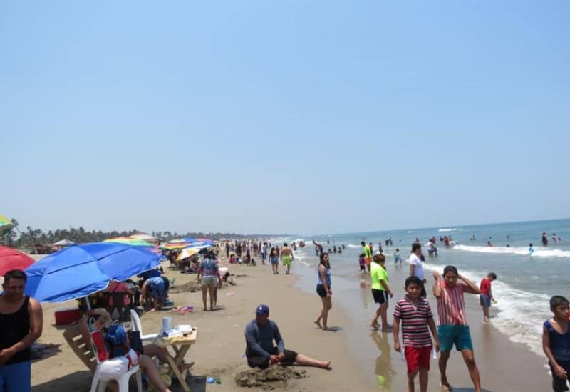 Así lucen las playas de Paraíso