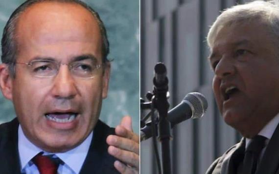Calderón entra a la ´guerra sucia´ contra AMLO; acusa régimen corrupto