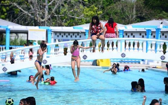 #Fotogalería Así lucen algunos balnearios en Villahermosa