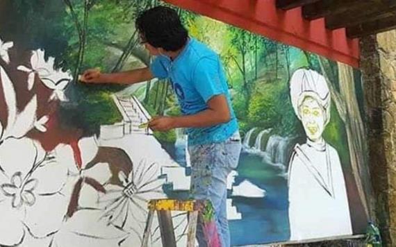 Asesinan a muralista y dos familiares en San Luis Potosí