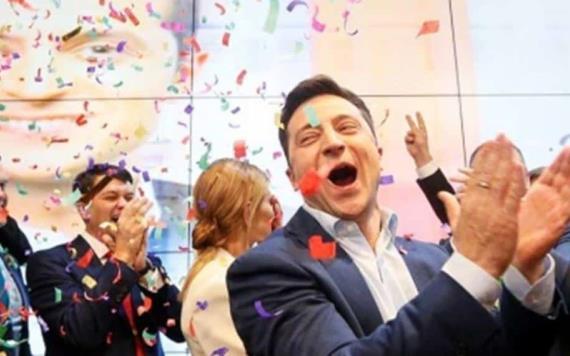 Comediante se perfila como nuevo presidente de Ucrania