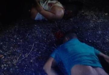 Ejecutan a dos hombres y una mujer en Huimanguillo; dejan mensaje