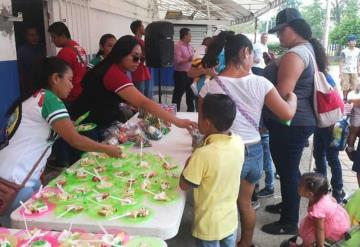Inician las celebraciones del Día del Niño organizado por los Olmecas
