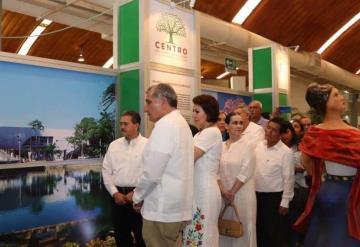 Inauguran el Stand de Centro en la Feria Tabasco 2019