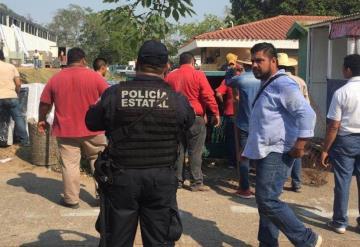 Se registra conato de incendio en el Palenque de Gallos de la Feria Tabasco