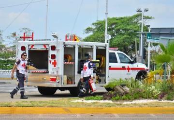 8 personas son atendidas diariamente en la Feria Tabasco por la Cruz Roja