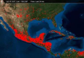 Piden a AMLO declarar emergencia ambiental nacional por incendios