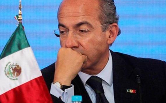 Intentaron atentar contra mí y la libertad de mi familia, cuenta Calderón a AMLO en una carta