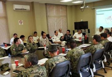 Se reúnen Fuerzas Armadas y funcionarios de Pemex para tratar nueva Estrategia de Seguridad