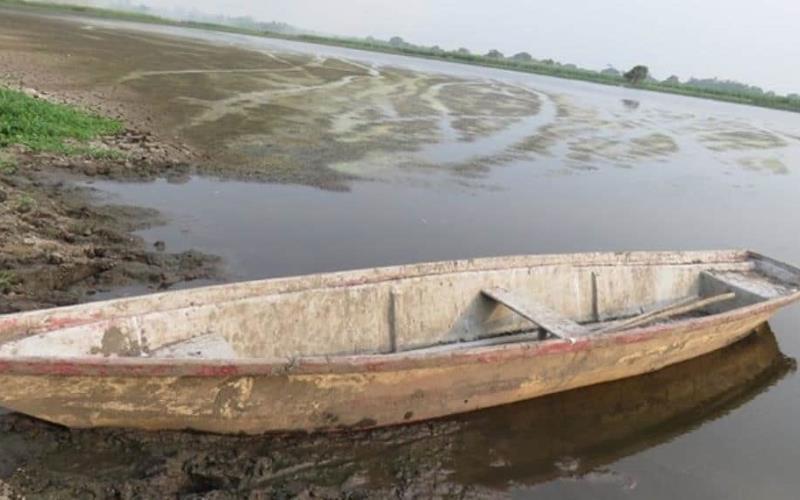 Estragos por sequía en ríos y laguna