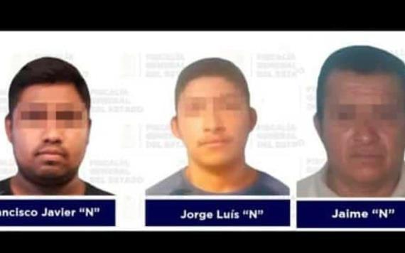 Sin tregua el combate al robo en Tabasco, detienen a tres delincuentes