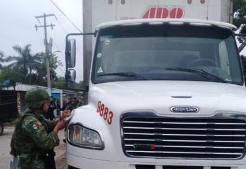ADO huachicolero, fue detenido por militares en Tabasco
