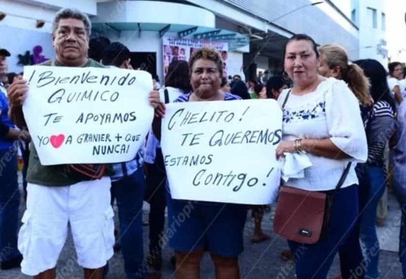 Bienvenido chelito Granier: Entre lágrimas y emotivos mensajes de bienvenida reciben a Granier