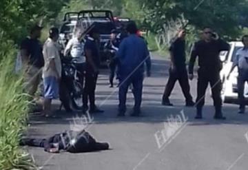 Matan a balazos a dos policías en Tabasco, les dispararon a quemarropa