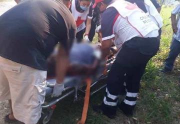 Hombre termina con graves quemaduras en su cuerpo al intentar apagar el incendio de un pastizal