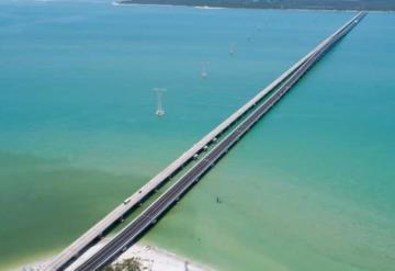 Inauguran nuevo puente La Unidad en Campeche