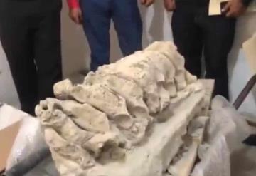 Encuentran restos fósiles de mamut, perro lobo gigante y camello en el estado de Puebla