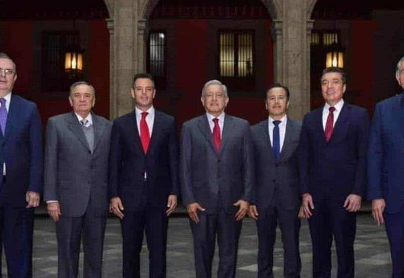 Gobernadores de la frontera sur respaldan plan migratorio de AMLO