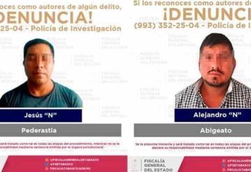 FGE detiene a cuatro personas relacionadas con delitos sexuales, violencia familiar y abigeato
