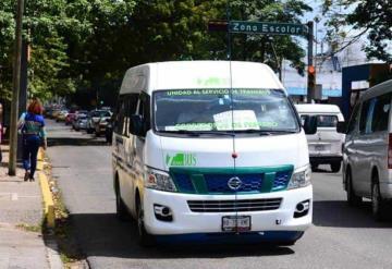 Disminuyen asaltos en el transporte público
